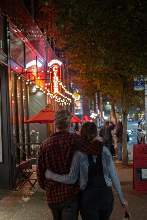 Walk to date night